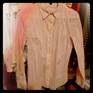 Ann Taylor Button Down Blouse
